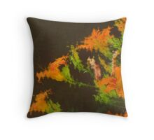 The Lilies Throw Pillow