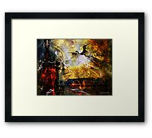 Dragon Realms IV Framed Print