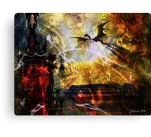 Dragon Realms IV Canvas Print