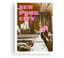 New Pork City Canvas Print
