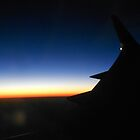 Sunset View Boeing 757 by Grace314