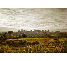 Historic fortified city of carcassonne (France) Photographic Print