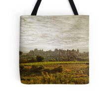 Historic fortified city of carcassonne (France) Tote Bag
