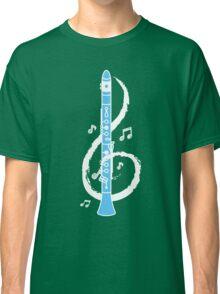 Musical Clarinet Treble Clef Classic T-Shirt