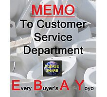 Every Buyer's A Yoyo 7 Photographic Print