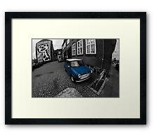 British Leyland Mini Framed Print