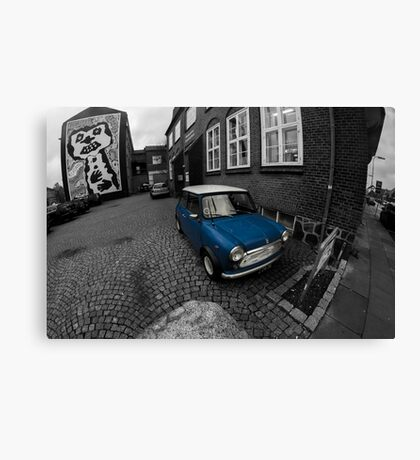 British Leyland Mini Canvas Print