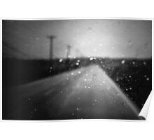 Broken plates on dirty highways II Poster