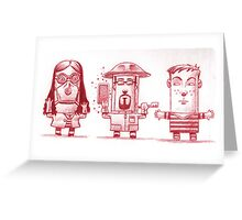Bee Keepers and ME Greeting Card