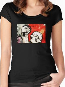 I'm Speaking Women's Fitted Scoop T-Shirt