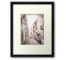 Old San Juan, Puerto Rico Framed Print