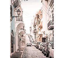 Old San Juan, Puerto Rico Photographic Print