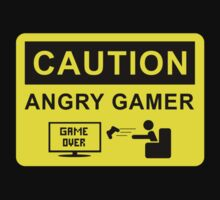 Caution - Angry Gamer by Kickmes0n