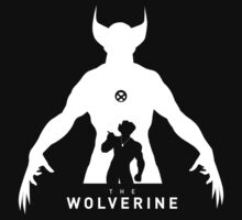 The Wolverine, Logan Silhouettes white by cocolima