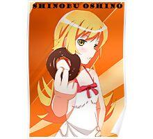 Shinobu Oshino Poster Poster