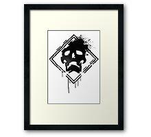 DESTROY  Framed Print