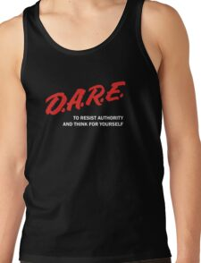 DARE TO RESIST AUTHORITY Tank Top