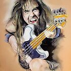 Steve Harris by MelannieD