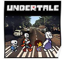 Undertale - Abbey Road  Poster