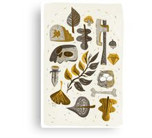 Findings from the Forrest Canvas Print