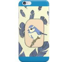 blue bird phone case iPhone Case/Skin