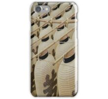 Japanese lanterns iPhone Case/Skin