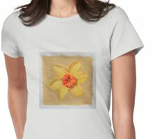 daffodil two Womens Fitted T-Shirt
