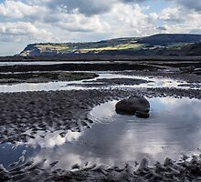 Robin Hoods Bay in Yorkshire by printsbypixie