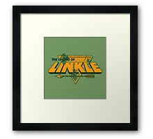 LEGEND OF LINKLE Framed Print