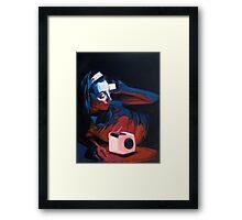 Cerulean Framed Print
