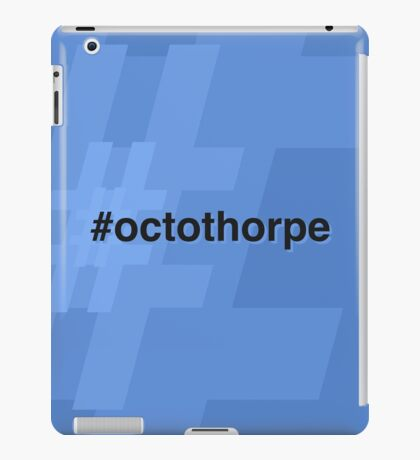 Octothorpe iPad Case/Skin