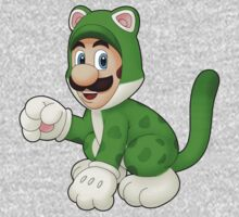 Cat Luigi One Piece - Short Sleeve