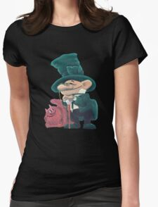 Two comrades Womens Fitted T-Shirt