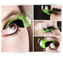 Green Lashes 2 Poster