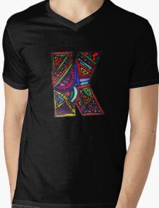 K K K  Mens V-Neck T-Shirt