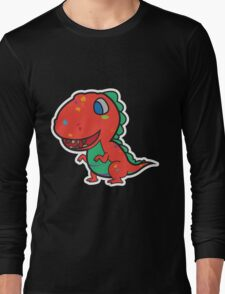 Messy Dino Long Sleeve T-Shirt