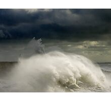 West Beach Wave Photographic Print