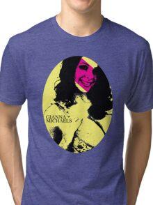 Punk P*rnstars - Gianna in Yellow Tri-blend T-Shirt