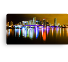 Miami the Magic City Canvas Print