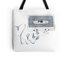 Music be the food of Love Tote Bag