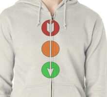 Signals Zipped Hoodie