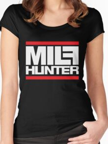 Milf hunter Women's Fitted Scoop T-Shirt