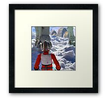 Luke Out Framed Print