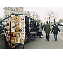 bouquinistes Photographic Print