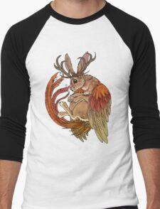 wolpertinger Men's Baseball ¾ T-Shirt