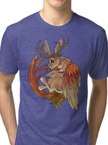 wolpertinger Tri-blend T-Shirt