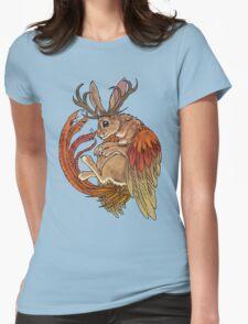 wolpertinger Womens Fitted T-Shirt