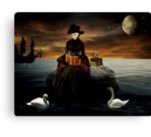 Good Night Moon... Canvas Print