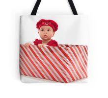 Santa Surprise Tote Bag