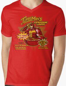 Kerosene Loops Mens V-Neck T-Shirt